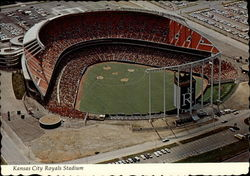Royals Stadium Postcard