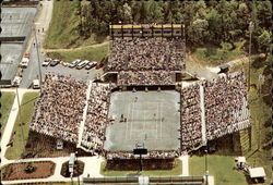 Aerial View of Julian J. Clark Tennis Stadium