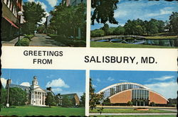 The Home of Salisbury State Teachers College
