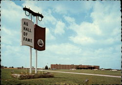 Agriculture Hall of Fame Postcard