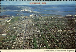 Aerial View of Downtown Superior