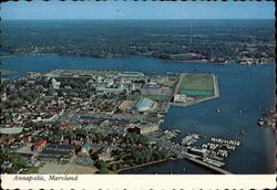 Aerial view of Annapolis Waterfront