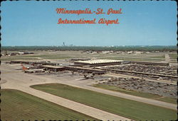 International Airport Postcard