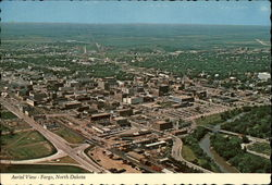 Aerial View of Fargo