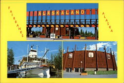 Fairbanks, Alaska Postcard