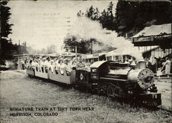 Miniature Train at Tiny Town