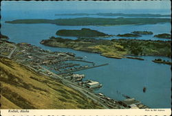 View from hills of Kodiak