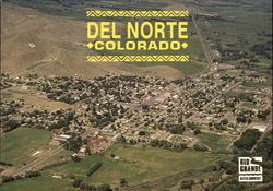 Aerial view of Del Norte