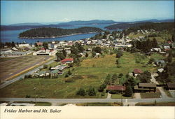 Friday Harbor and Mt. Baker