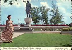 Guam Beauty and Chief Kepuha Statue
