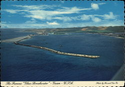 "The Famous ""Glass Breakwater"" Protecting Apra Harbor Postcard"
