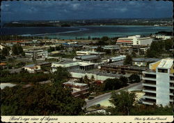 Bird's-eye view of Agana