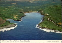 Birds-eye View of Scenis Guam Coastline