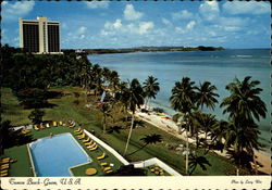 Tumon Beach Postcard
