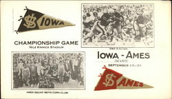 Iowa-Ames Championship Football Game