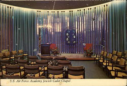 U.S. Air Force Academy Jewish Cadet Chapel Postcard