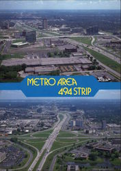 Metro Area 494 Strip Postcard
