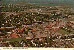 Aerial View of Moorhead State College
