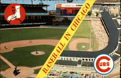 Baseball In Chicago Postcard
