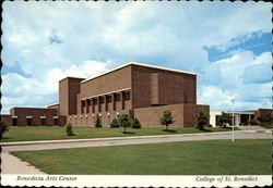 Benedicta Arts Center, College of St. Benedict Postcard