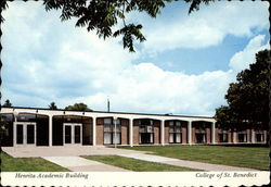 Henrita Academic Building Postcard