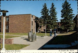College of St. Benedict Postcard
