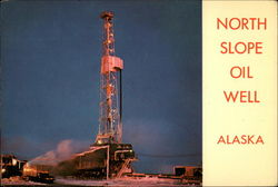 North Slope of Oil Well