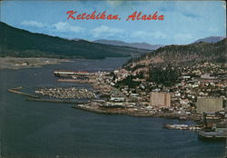 Aerial View of Ketchikan