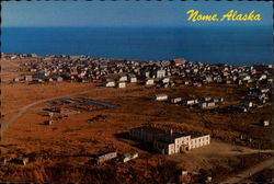 Aerial view of Nome