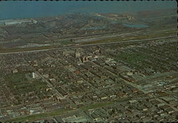 Aerial View of Gary