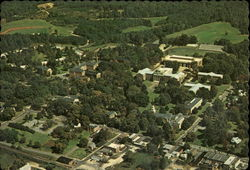 Aerial View of Davidson College
