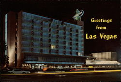 Night View of the World Famous Desert Inn