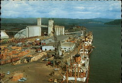 Port of Longview, Washington Postcard