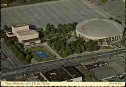 Ovens Auditorium and the Charlotte Coliseum