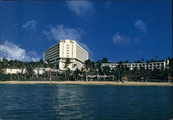 Guam Hotel Okura for Holiday in Micronesia Postcard