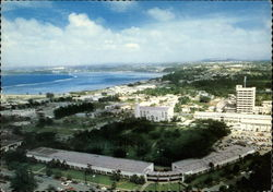 Birdseye view of Agana, Capital of Guam