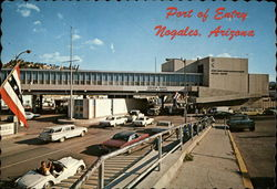 United States Immigration and Port of Entry Postcard