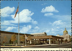 The Indian Convention-Exposition Center Postcard