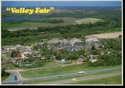 Valley Fair Postcard