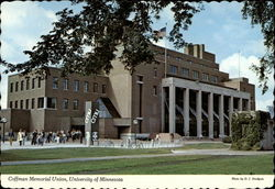 Coffman Memorial Union, University of Minnesota Postcard
