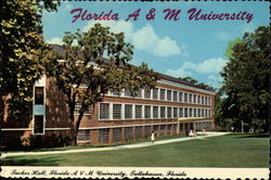 Tucker Hall on campus of Florida Agricultural and Mechanical University