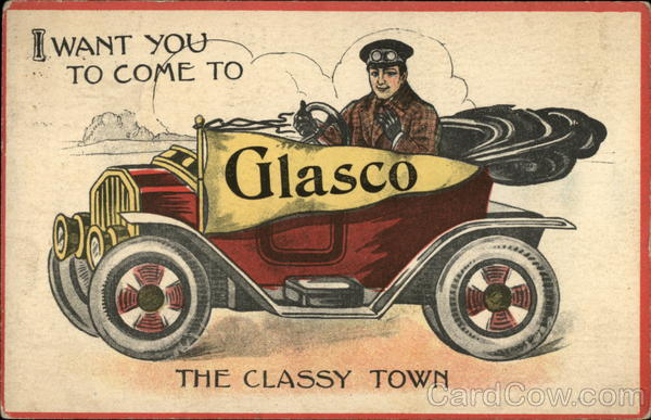 I Want You To Come to Glasco: The Classy Town Kansas