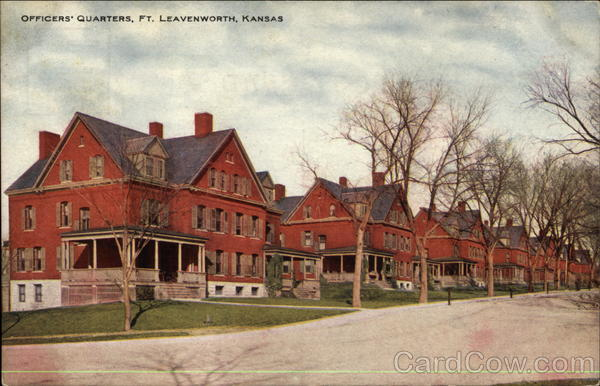 Officers Quarters Leavenworth Fort