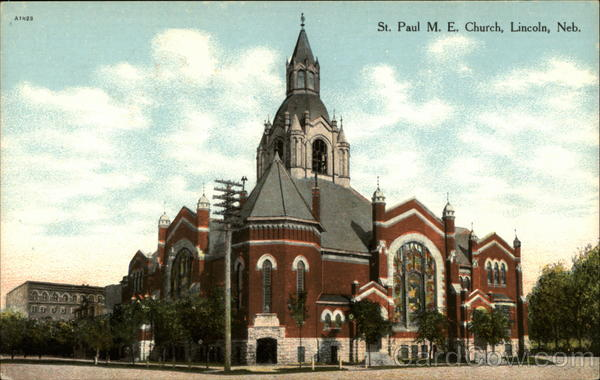 St. Paul M. E. Church Lincoln Nebraska