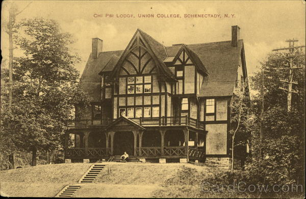 Chi Psi Lodge, Union College Schenectady New York