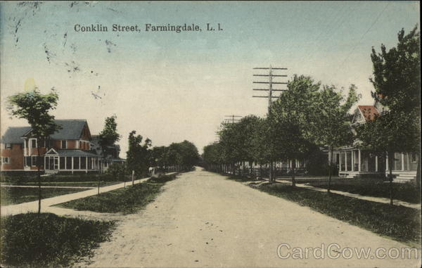 Conklin Street Farmingdale New York