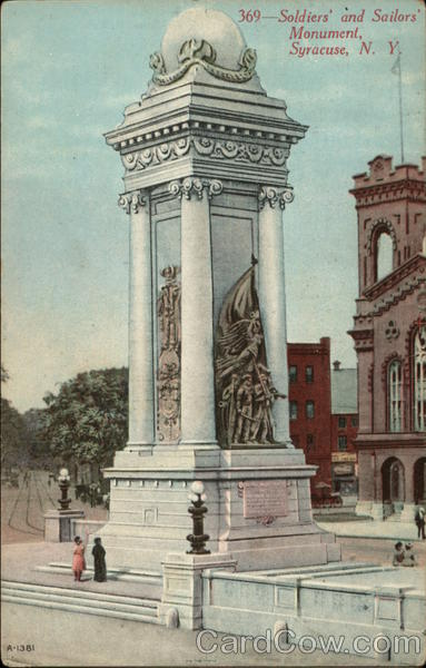 Soldier's and Sailor's Monument Syracuse New York