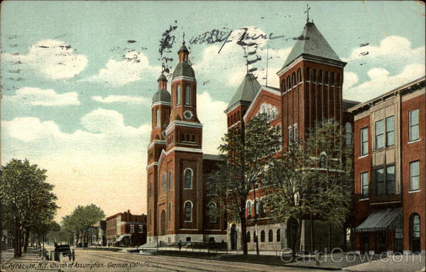 Church of Assuption, German Catholic Syracuse New York