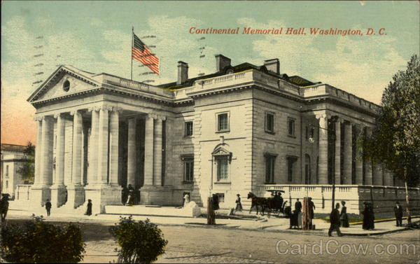 Continental Memorial Hall Washington District of Columbia