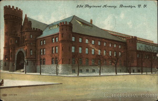 23d Regiment Armory Brooklyn New York